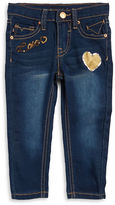 Vigoss Girls 2-6x Sequined Skinny Jeans