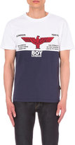 Boy London Rugby Print Cotton T-shirt