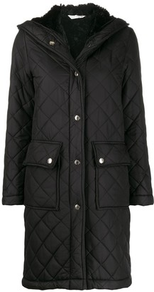 MACKINTOSH GRANGE Black Quilted Hooded Coat LQ-1001