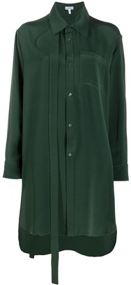 Loewe Oversized Silk Shirt