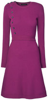 Banana Republic Button-Front Ribbed Sweater Dress