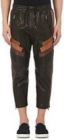 Neil Barrett Men's Leather Biker Pants