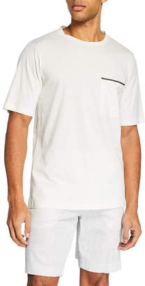 Theory Men's Ideal Jersey Neo Pocket T-Shirt