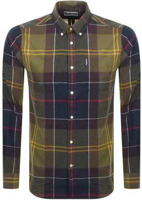 Barbour Long Sleeved Tartan 5 Shirt Green