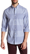 Gant Textured Check Long Sleeve Regular Fit Shirt