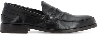 Moma Leather Penny Loafers