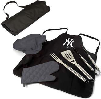 Picnic Time New York Yankees Mlb Bbq Apron/ Tote Set