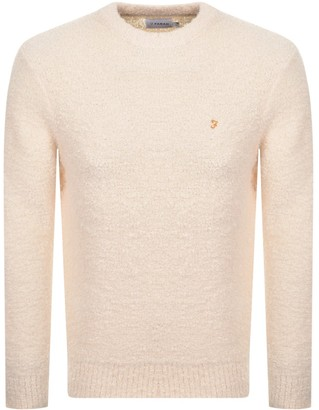 Farah Cobman Knitted Jumper Cream