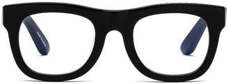 Caddis D28 Gloss Glasses in Black