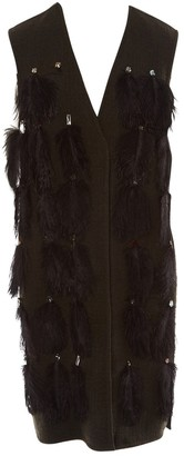 Lanvin Khaki Wool Coat for Women