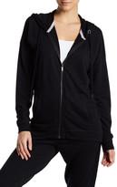 Nanette Lepore Lace-Up Back Zip Jacket