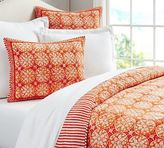 Pottery Barn Phoebe Tile Quilt & Shams