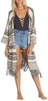 Billabong Women's Valley Trek Knit Kimono