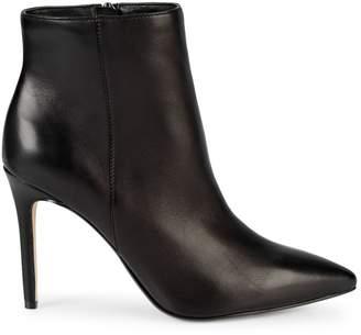 Saks Fifth Avenue Aubrey Leather Stiletto Booties