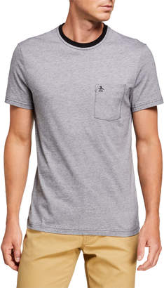 Original Penguin Penguin Men's Feeder Stripe Pocket T-Shirt