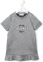 Simonetta let the journey begin printed dress