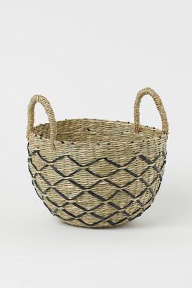 H&M Braided seagrass basket