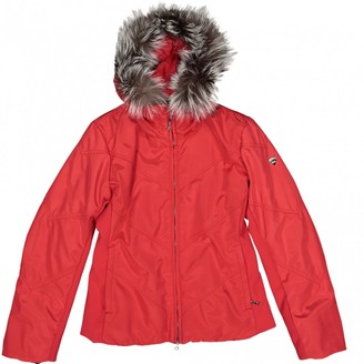 Post Card Red Synthetic Coats