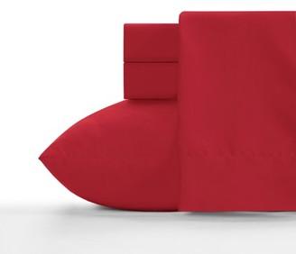 Crayola Scarlet Full size Microfiber sheet set