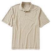 Roundtree & Yorke Casuals Short-Sleeve Solid Slub Polo
