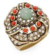 Heidi Daus A Touch Of Elegance Swarovski Crystal Ring