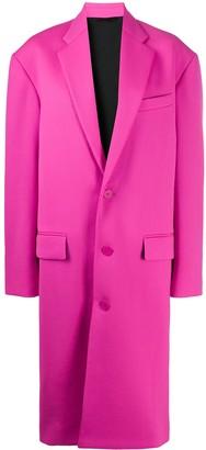 Balenciaga Boxy single-breasted coat