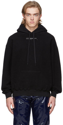 Ottolinger SSENSE Exclusive Black Fleece Hoodie