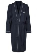 Boss Kimono Navy Cotton Robe