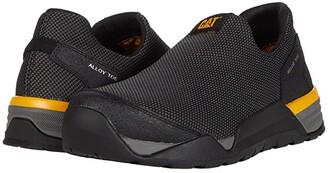 Caterpillar Sprint Mesh Moc Alloy Toe (Black) Men's Shoes