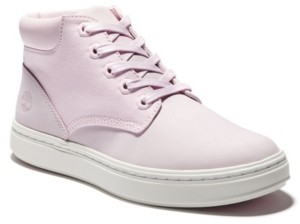 Timberland Fabric and Leather Hi-Top Sneaker Women's Shoes