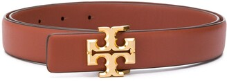 Tory Burch Logo Buckle Belt