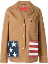 Tommy Hilfiger notch collar casual jacket