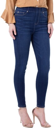 Liverpool Chloe High Waist Pull-On Ankle Skinny Jeans