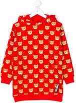 Moschino Kids bears print hoodie