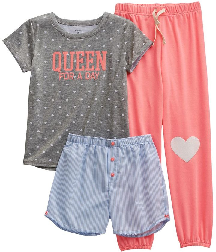 "Carter's queen for a day"" pajama set - girls"