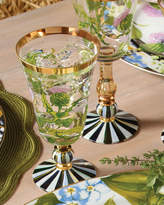 Mackenzie Childs MacKenzie-Childs Thistle Water Glass