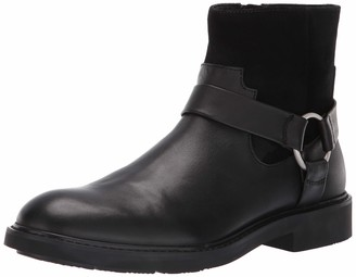 Calvin Klein Men's Vergil Dress Calf Suede Ankle Boot