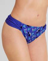 Figleaves swimwear Casablanca Ruched Side Bikini Brief