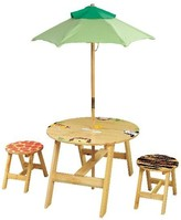 The Well Appointed House Teamson Design Sunny Safari Child's Outdoor Table and Chairs Set