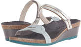 Naot Footwear Silver Luster & Sea Pearl Folklore Leather Sandal