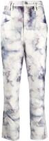 Isabel Marant Eloise high-rise tie-dye jeans