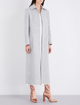 Helmut Lang Buckle-belted wool and cashmere-blend coat