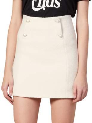 Sandro Dayna Mini Tweed Skirt