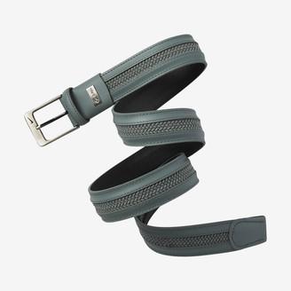 Nike Men's Golf Belt Leather Woven G-Flex
