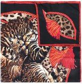 Dolce & Gabbana Bengal cat print scarf