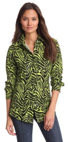 Wrangler Women's Fashion Rhinestone Long Sleeve Shirt