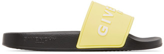Givenchy Yellow Logo Slides