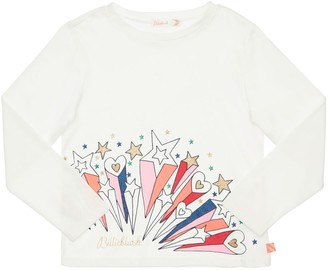 Billieblush Printed Cotton Jersey T-Shirt