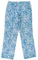 Ralph Lauren Floral Mid-Rise Pants