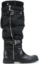 Diesel Black Gold knee length boots